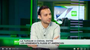 Capture écran Inane Gurbuz RT France