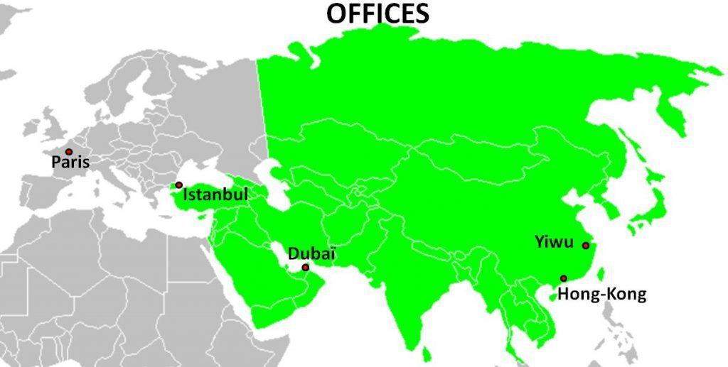 Azkan Group dans le monde