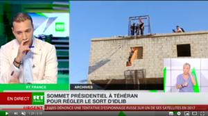 capture écran d'Inane Gurbuz sur RT France